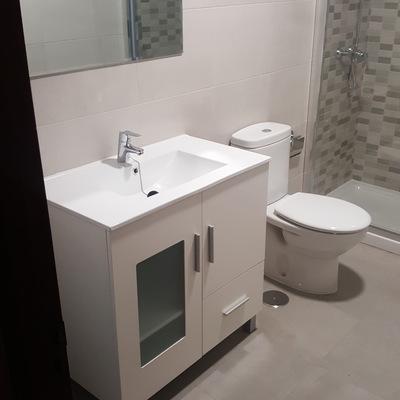 Reforma de baño en infiesto
