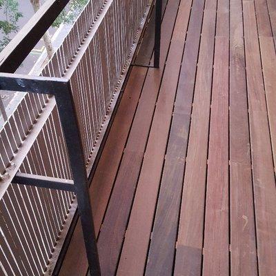 Balcon madera IP