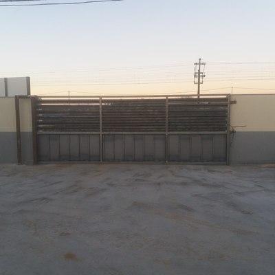 Puerta automatica de hierro