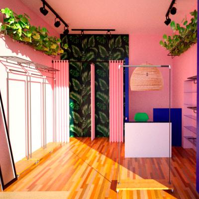 Diseño pequeña tienda