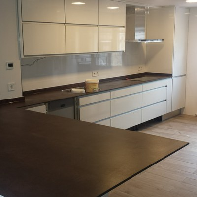 Instalación de los muebles de cocina