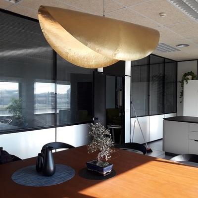 Limpieza cristales interior de oficina