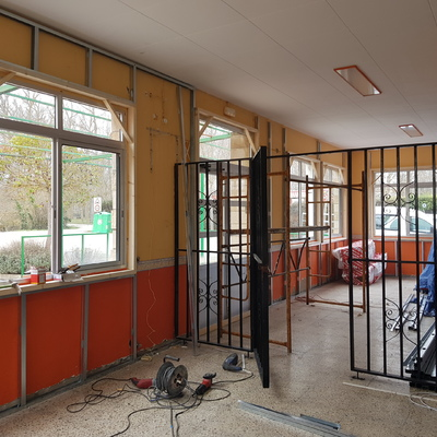 Aislar las paredes con pladur