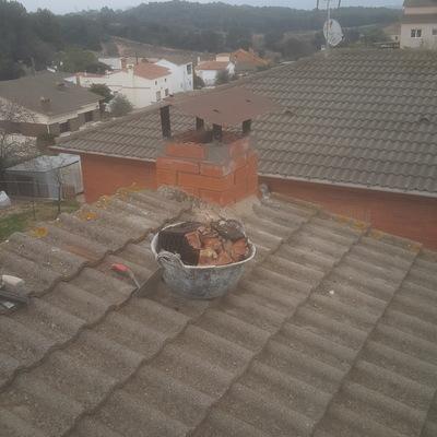 reparacion en chimenea