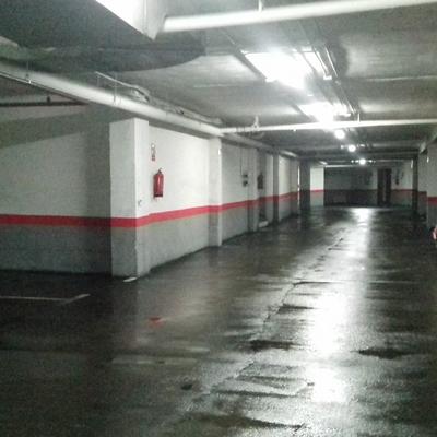 limpieza garaje asfalto