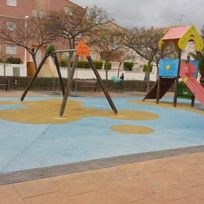 Parque infantil de material EPDM en sagunto