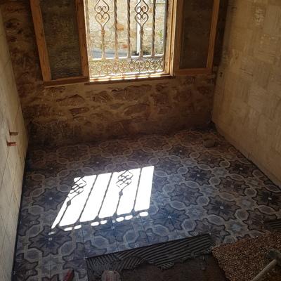 suelo de baño