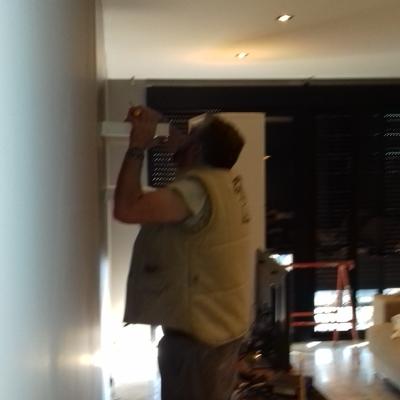 Colocación falso techo y pintura