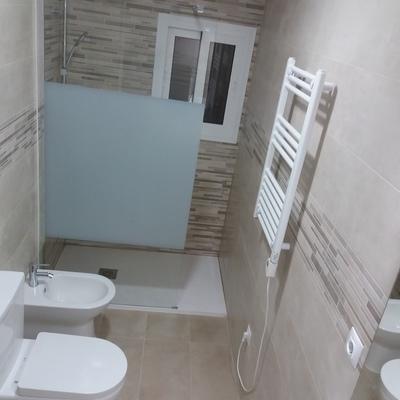 Cuarto de baño de 3.5 m2