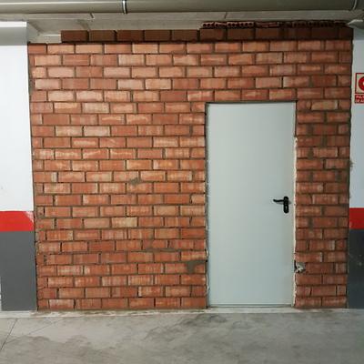 Cerramiento plaza de garaje