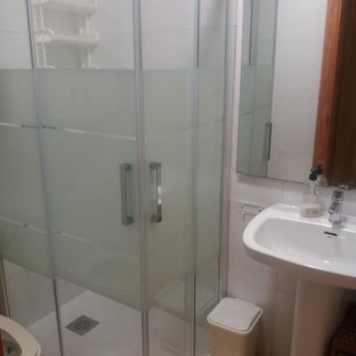 Pié de ducha reformado