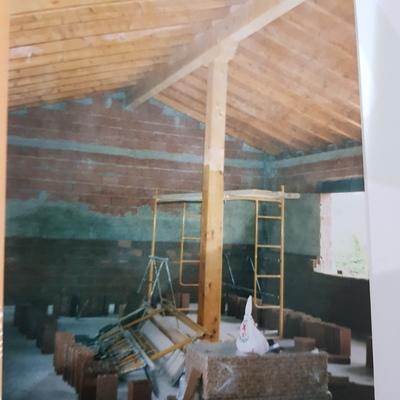 Tejado de madera, chale nuevo de 75 m2