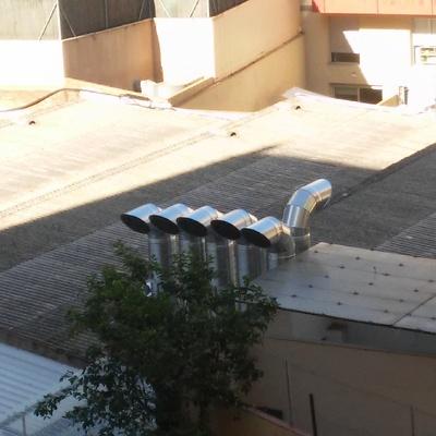Proyecto de ventilación en aparcamiento interior de dos plantas. Proyecto de obras para Instalación de un sistema de ventilación.