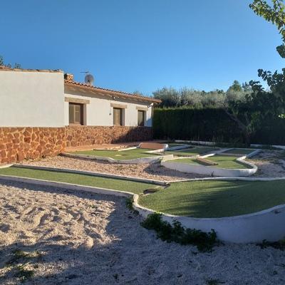 Mini campo de golf