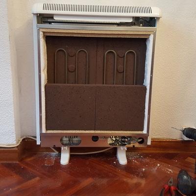Instalación de acumuladores de calor
