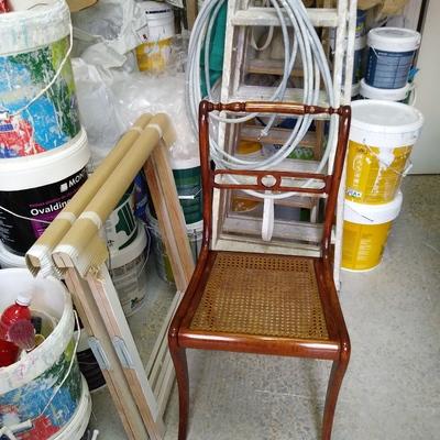 Restauración silla