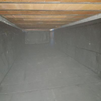 Impermeabilización de depósito de agua con lámina de caucho.(EPDM)