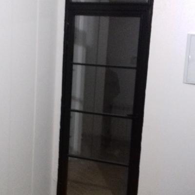 Puerta industrial cristal