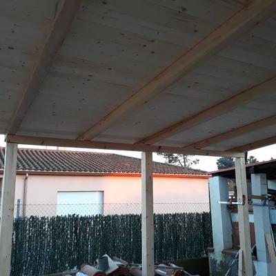 Fabricación de porch