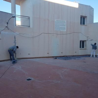 Reparar paredes con malla