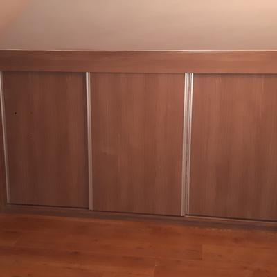 Puertas correderas cerradas