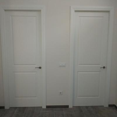Puertas de habitaciones y baños
