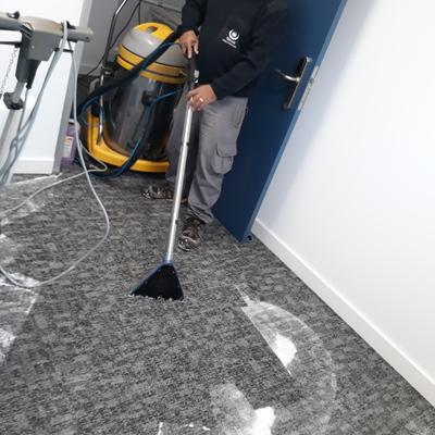 Limpieza y desmanchado de moquetas de oficinas