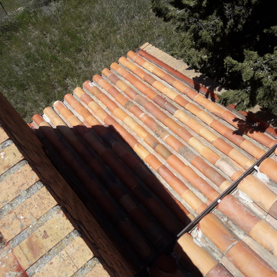 Reparación y limpieza de tejado (despùes)