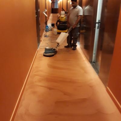 Limpieza y desmanchado de moquetas de hoteles