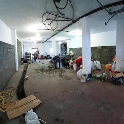 Reforma de salones diáfanos para vivienda