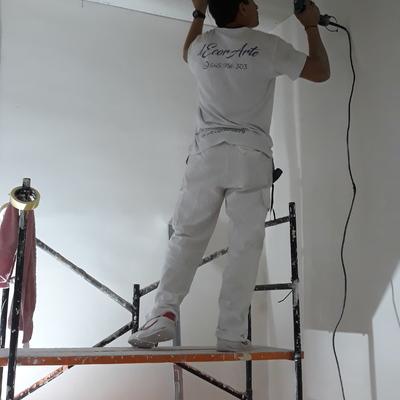 Colocación de techos pladur