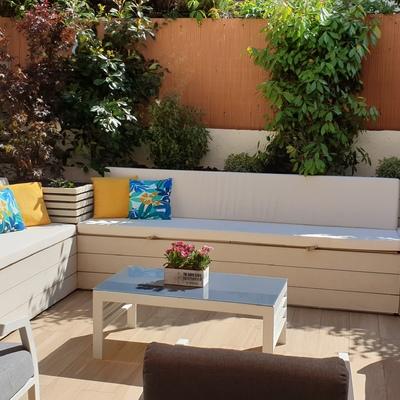 Diseño de paisajismo de terraza. Soto de la Moraleja