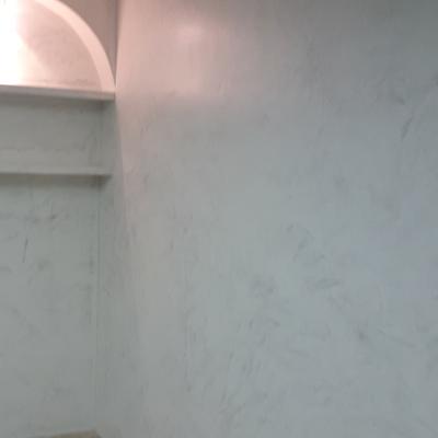Microcemento en pared