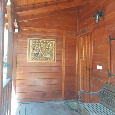 Casa de madera en Duruelo