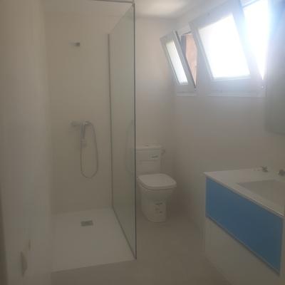 Renovacion baño finalizados los trabajos
