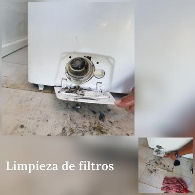 Limpieza de filtros de lavadora