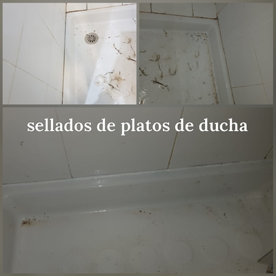 Sellado de plato de ducha