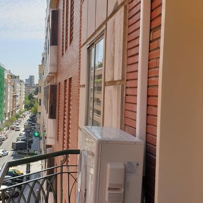 Climatizacion centraliza piso C/Espronceda, Madrid