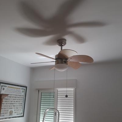 Montaje de ventilador.