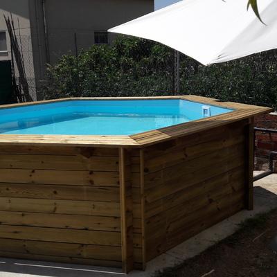 Montar piscina