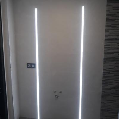 Montaje de iluminación tipo LED
