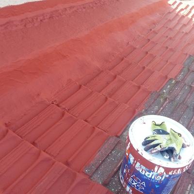 Impermeabilización tejado casa huerta