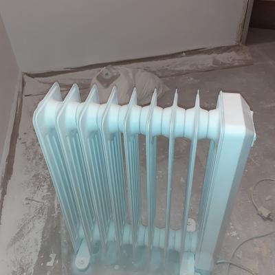 Radiador lacado en blanco