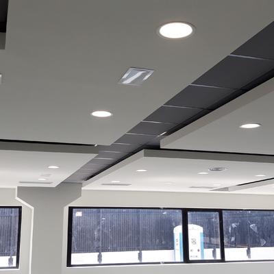 Detalle techos oficinas Inerzis.s.l