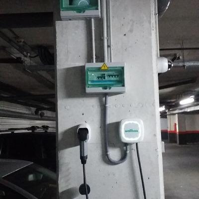 Punto de Recarga Vehiculo Electrico Garage Comunitario - Madrid