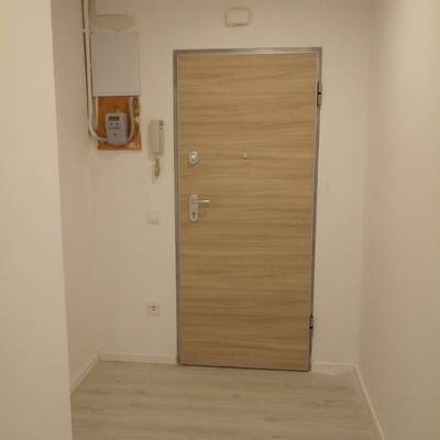 Colocacion puerta acorazada