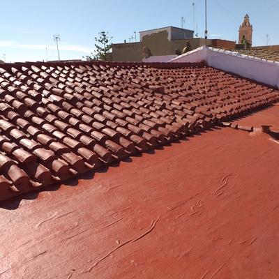 Recuperación de tejado muy antiguo