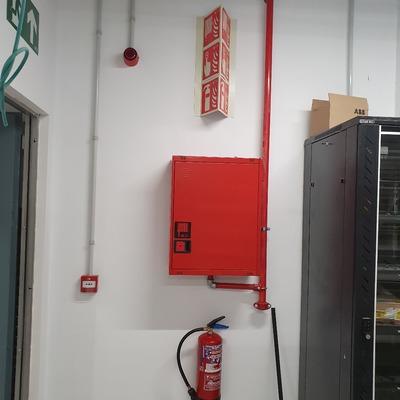 Instalación contra incendio