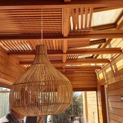 Techo mobil de Bambú
