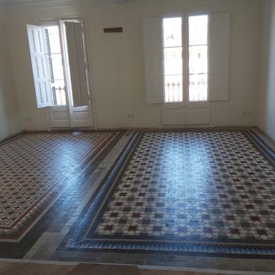 Mantenimientos suelos de mosaico de holla